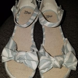 Gap wedge sandals